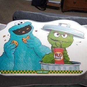 1982 Sesame Street placemats set of 3